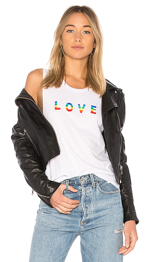 Private Party Love Tank in Ivory