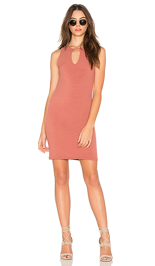 Project Social T Metro Dress in Rose