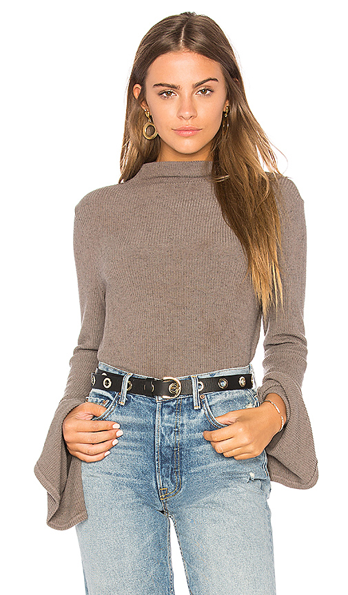 Project Social T Becca Top in Taupe