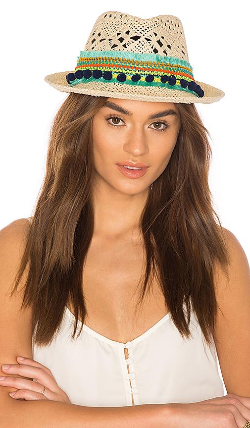 Poupette St Barth Caline Hat in Tan