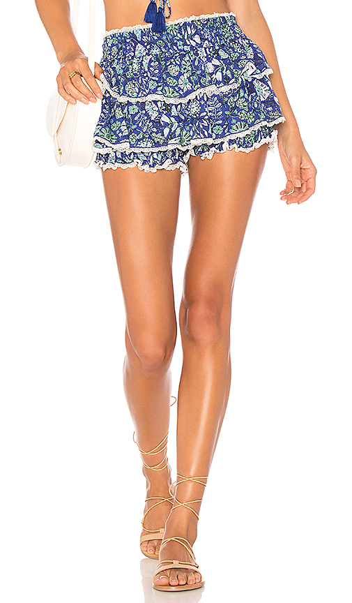 Poupette St Barth Garbo Shorts in Purple