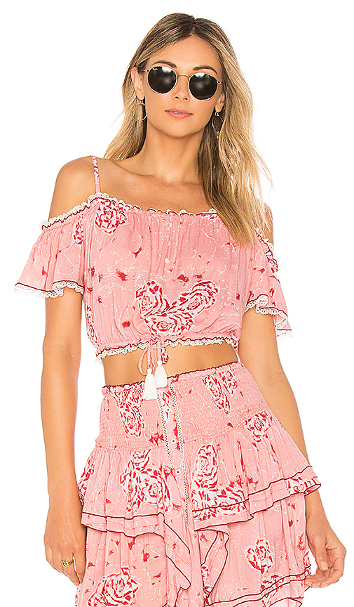 Poupette St Barth Donna Blouse in Pink