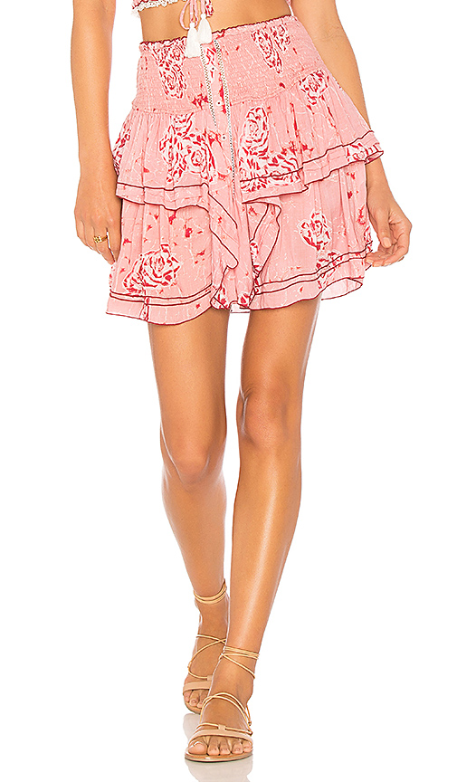 Poupette St Barth Elodie Skirt in Pink