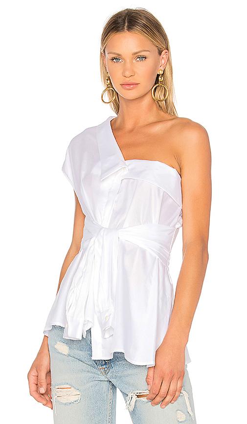 Petersyn Hadley Top in White