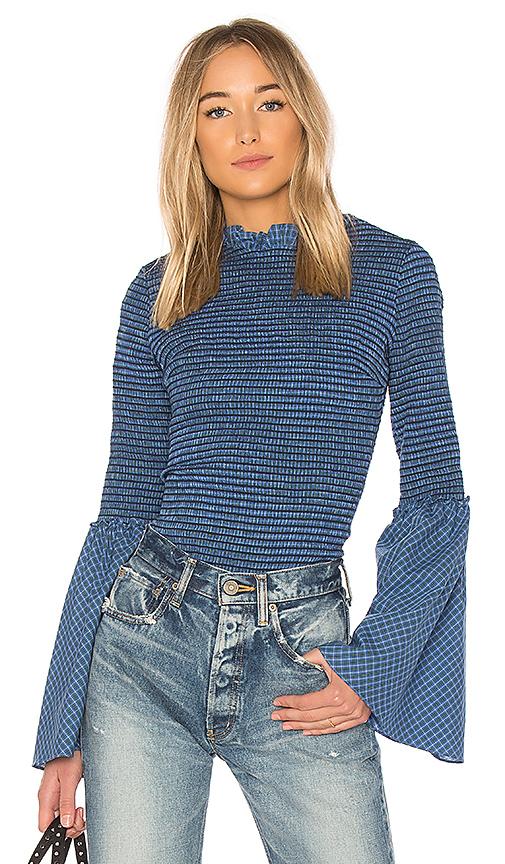 Petersyn Sabina Top in Blue