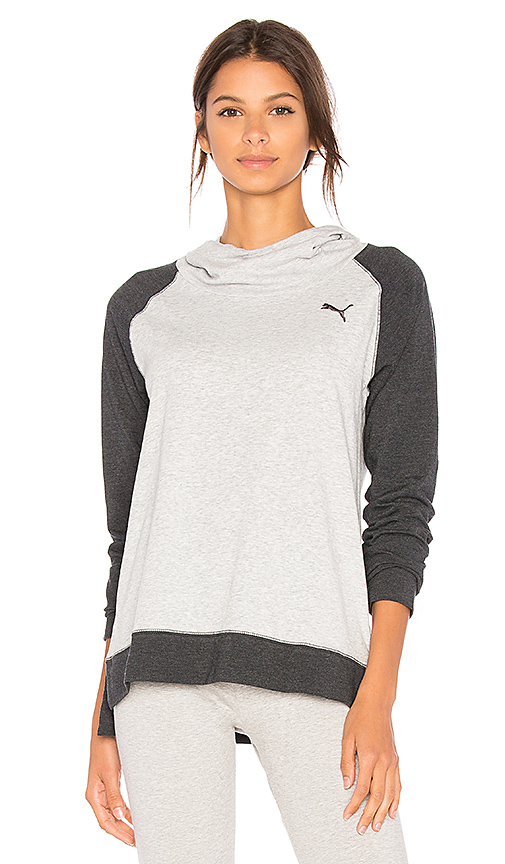 Puma High Life Hoodie in Gray. - size S (also in M,XS)