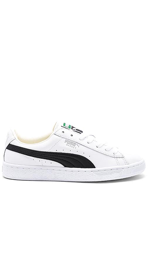 Puma Basket Classic Sneaker in White
