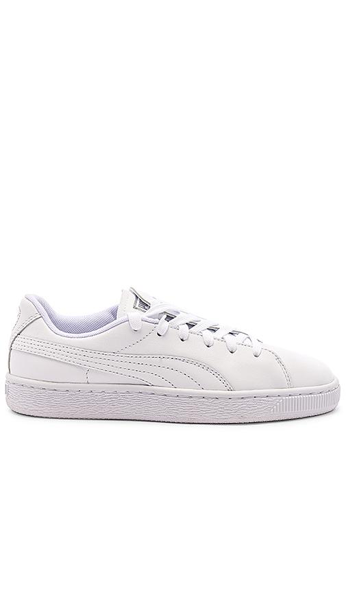 Puma Crush Emboss Sneaker in White