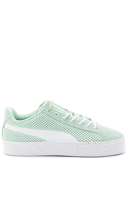 Puma Select x Daily Paper Platform Knit Splat in Mint. - size 10 (also in 10.5,11,11.5,12,13,7,8,8.5,9,9.5)