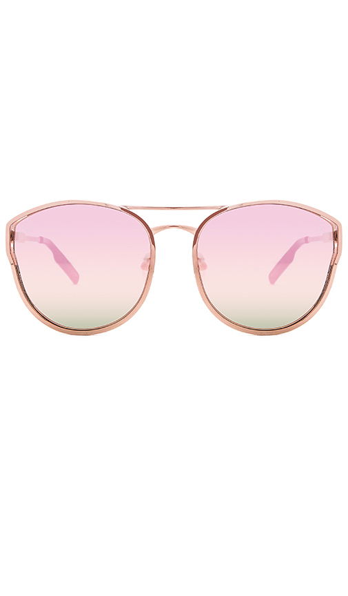 Quay Cherry Bomb Sunglasses in Metallic Copper