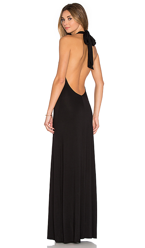 Rachel Pally Fausto Maxi Dress in Black