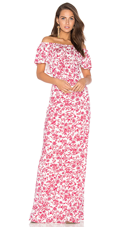Rachel Pally Reston Maxi Dress in Red. - size M (also in XS)