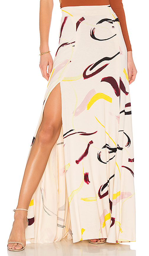 Rachel Pally Josephine Maxi Skirt in Cream. - size S (also in L,M,XS)