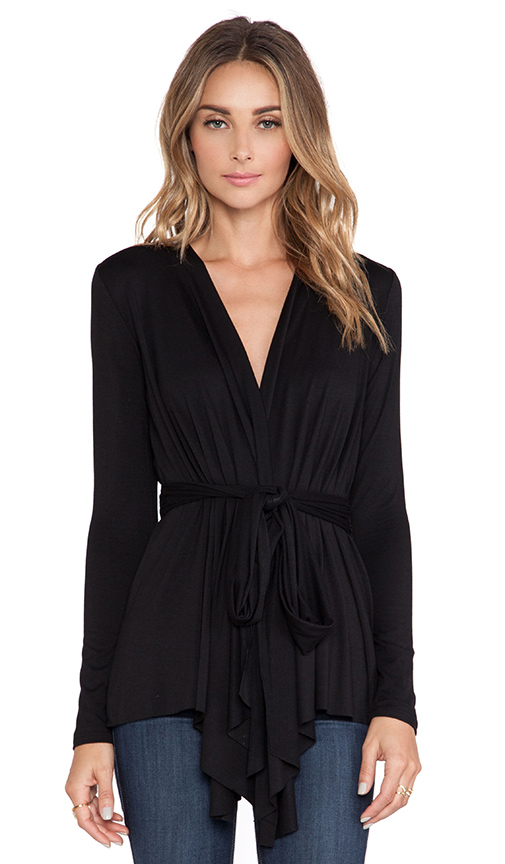 Rachel Pally Rollo Top in Black