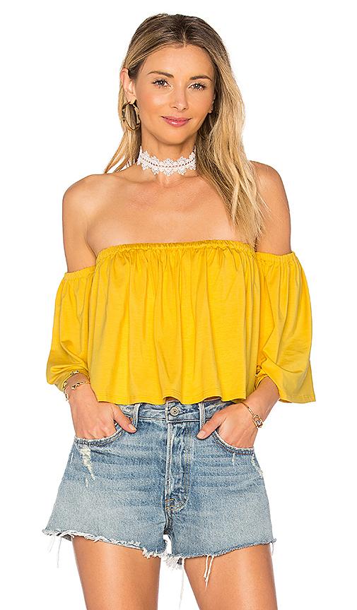 Rachel Pally Esmeralda Top in Yellow
