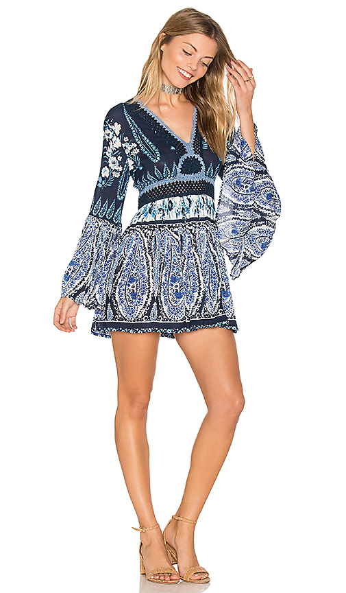 Raga Luisa Long Sleeve Tunic in Navy