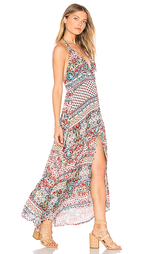 Raga Riviera Vibes Maxi in Red