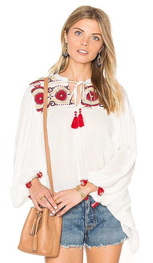 Raga Isadora Blouse in White