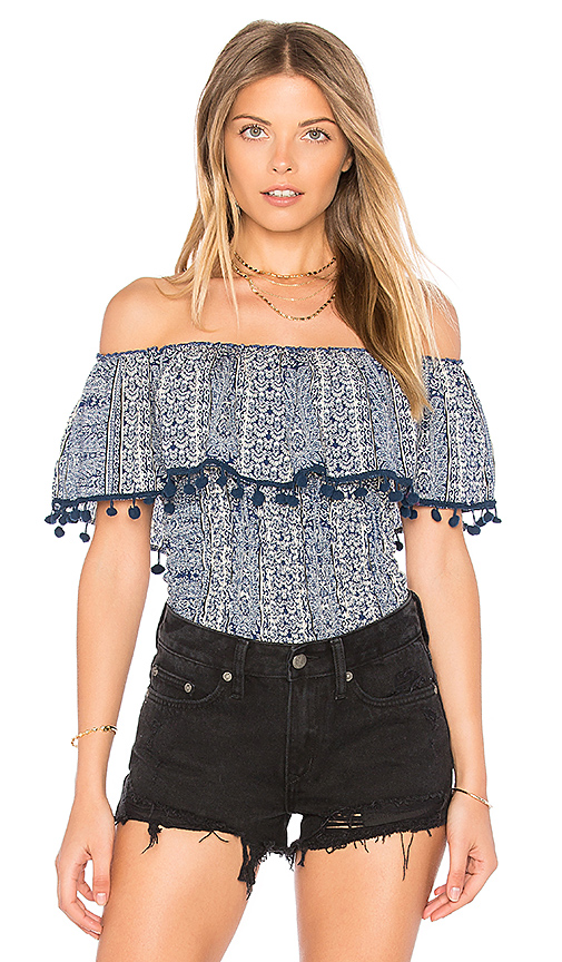Raga Milos Top in Blue