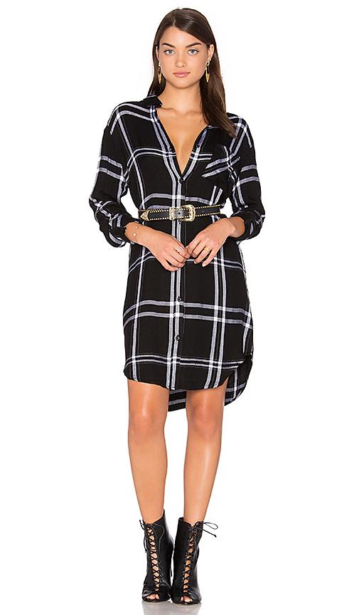 Rails Bianca Dress in Black & White