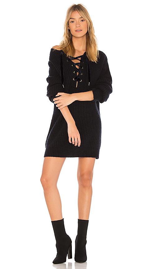 Rails Nicole Sweater Dress in Black