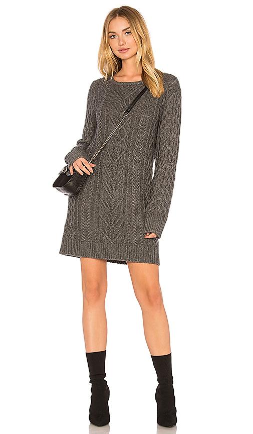 Rails Jesse Sweater Dress in Charcoal