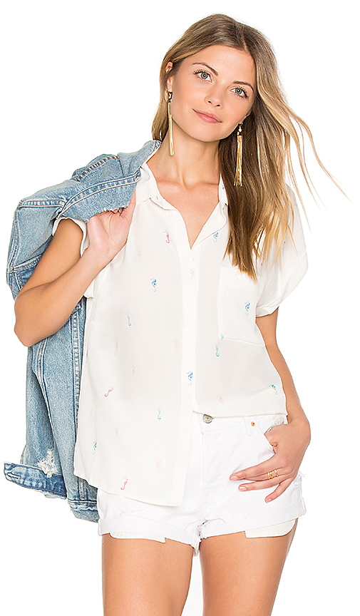 Rails Chase Button Down in White