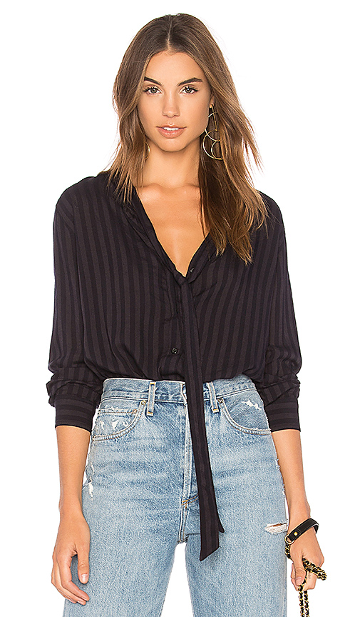 Rails Colette Top in Charcoal
