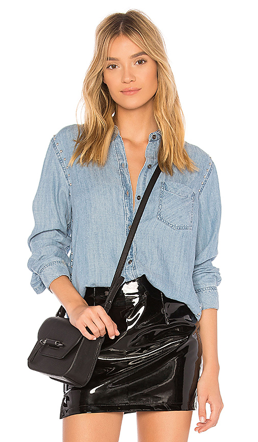 Rails Ingrid Button Up in Blue