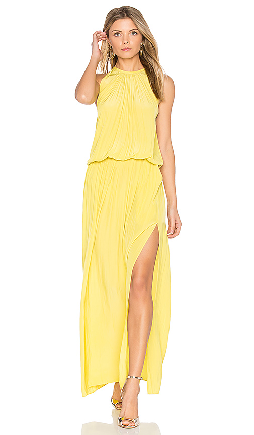 RAMY BROOK Delaney Maxi in Yellow