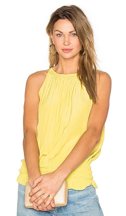 RAMY BROOK Sleeveless Lauren Top in Yellow