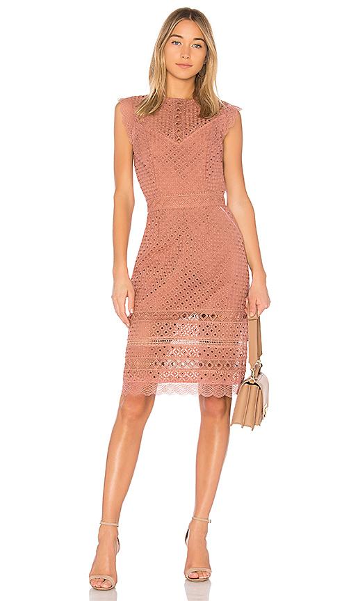 RAVN Lia Dress in Rose