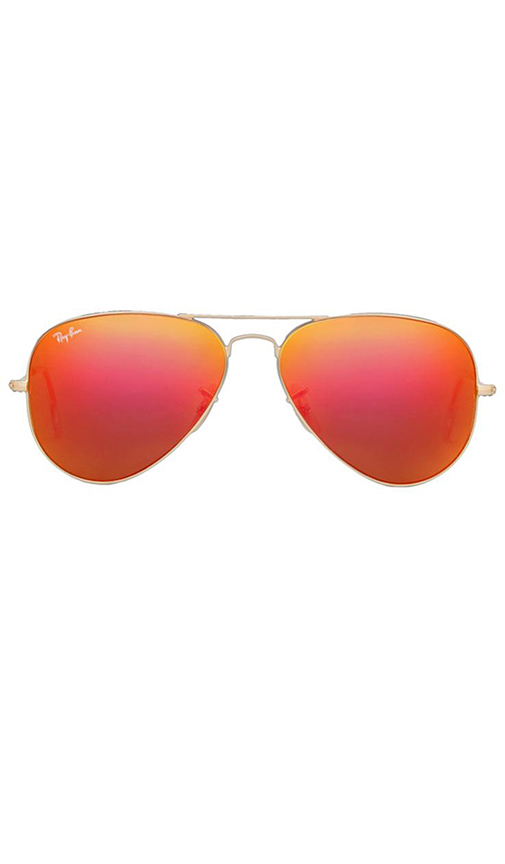 Sale alerts for Ray-Ban Large Metal Flash Lense Aviator - Covvet