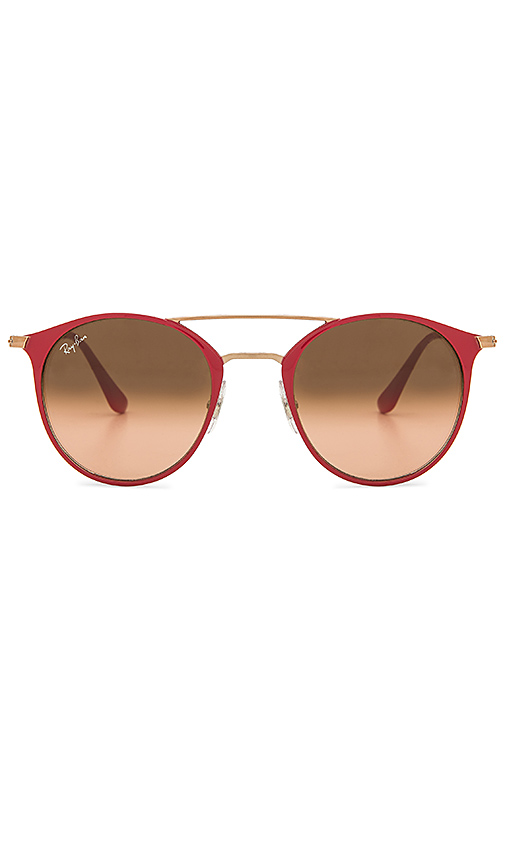 Ray-Ban Double Bridge in Red