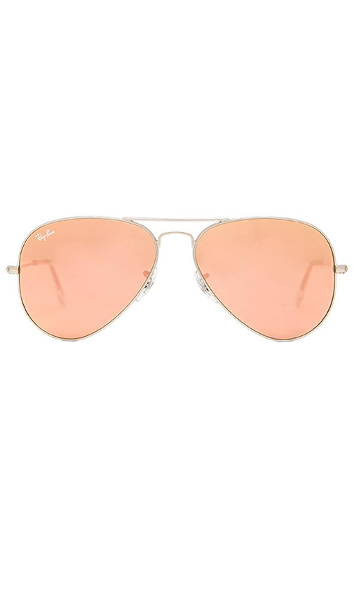Ray-Ban Aviator Flash Lenses in Brown