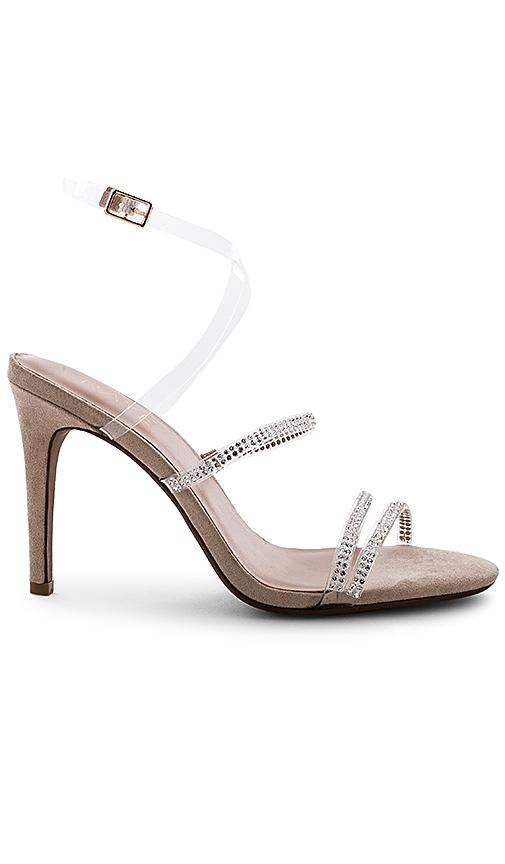 RAYE Shimmer Heel in Tan