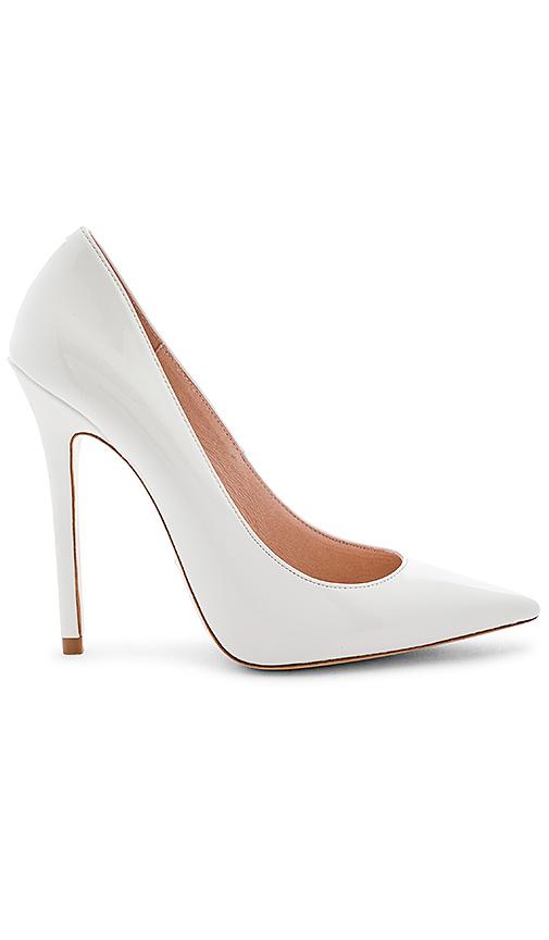 RAYE Madonna Heel in White