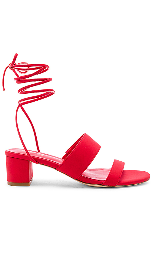 RAYE Paris Heel in Red