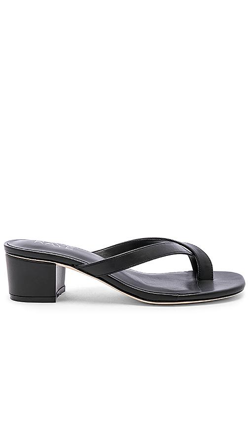 RAYE Estes Sandal in Black