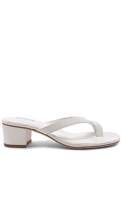 RAYE Estes Sandal in White