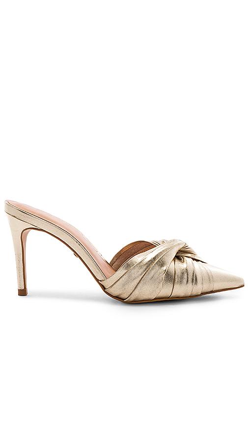 RAYE Varada Heel in Metallic Gold