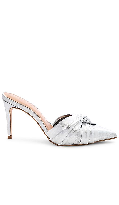 RAYE Varada Heel in Metallic Silver