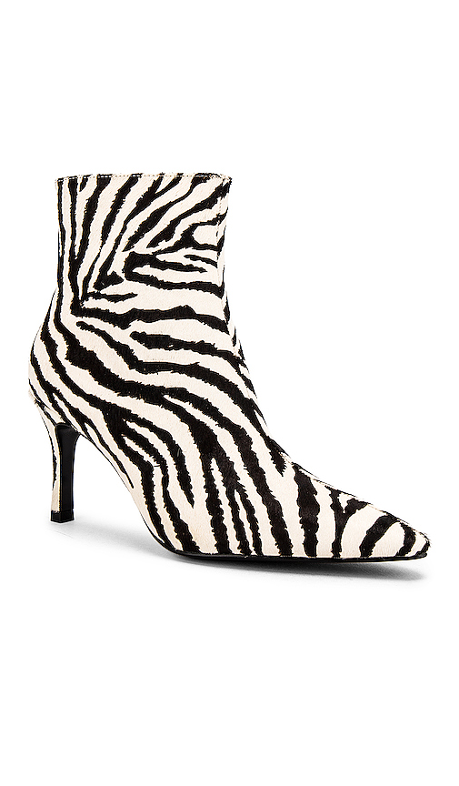 RAYE Liberty Booties in Black & White
