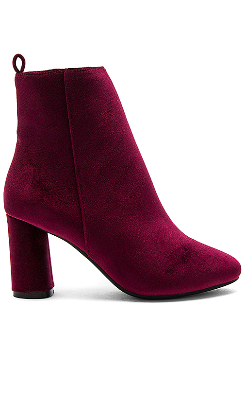 RAYE X NBD Afton Bootie in Burgundy. - size 10 (also in 5.5,6,6.5,7,7.5,8,8.5)