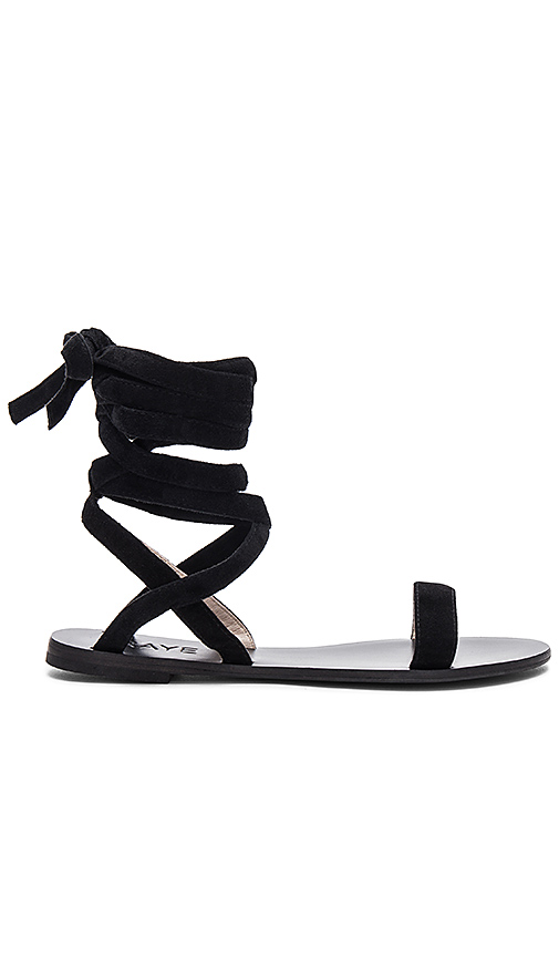 RAYE Sal Sandal in Black