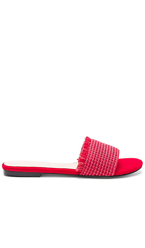RAYE x REVOLVE Sawtelle Slide in Red