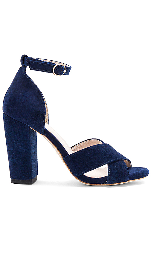 RAYE Baker Heel in Navy