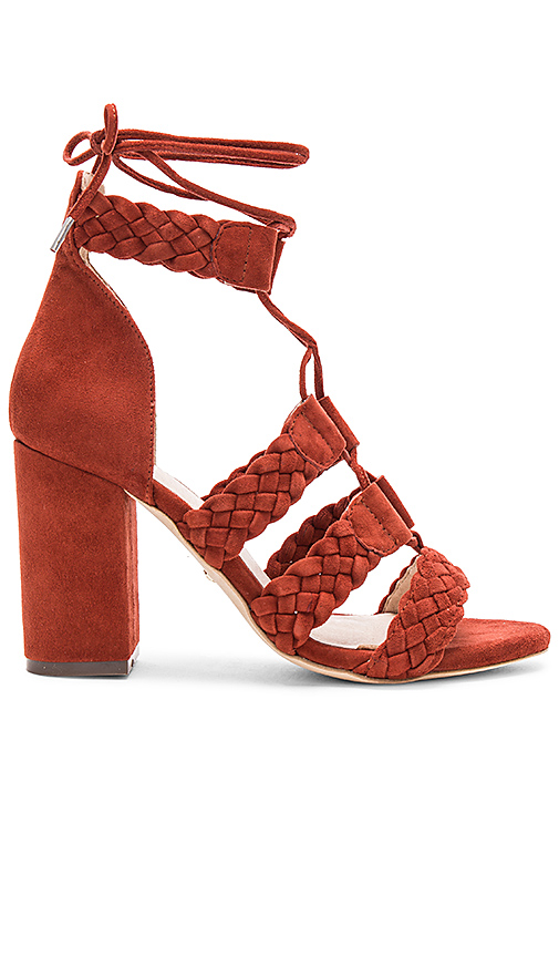 Photo of RAYE x REVOLVE Libby Heel in Rust - shop RAYE shoes sales
