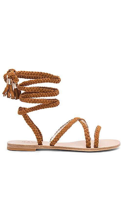 RAYE x REVOLVE Sadie Braid Sandal in Cognac