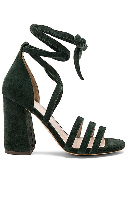 RAYE Birdie Heel in Dark Green